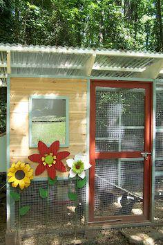 LANDSCAPE DESIGN Decorating Styling: Love Gift: Chicken Coop