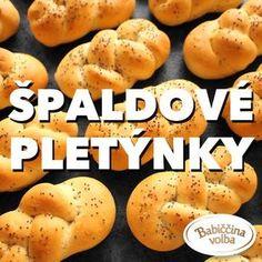 Spaldove pletynky - Cuketka Cooking Bread, Sweet Potato, Hamburger, Potatoes, Vegetables, Fit, Recipes, Potato, Veggies