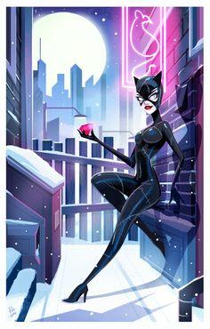 Snow day in Gotham, but Selina doesn't mind. Nightwing, Batwoman, Batgirl, Batman Et Catwoman, Batman 1, Black Catwoman, Comic Book Characters, Comic Character, Comic Books Art