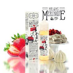 Charlie& chalk dust & Miss Meringue SnV Meringue, Vape, Water Bottle, Strawberry, Drinks, Food, Merengue, Smoke, Beverages