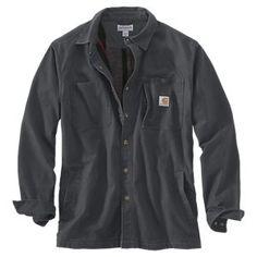 f8d1f29a754 Carhartt Rugged Flex Rigby Fleece-Lined Shirt Jac for Men - Shadow - L