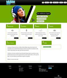 Site desenvolvido pra a produtora de áudio Offspots
