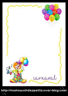 Free Printable Stationery, Free Printables, Theme Carnaval, Writing Paper, Photos Du, Mardi Gras, Collage, Kindergarten, Blog