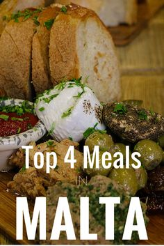 Our Top 4 Meals In Malta. Delicious food from unique restaurants.