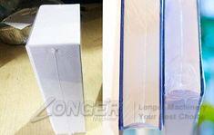 Box Shrink Packaging Machine Heat Shrink Film Wrapp Machine For Boxes Wrapping Machine, Shrink Film, Milk Box, Packaging Machine, Cigarette Box, Tea Box, Energy Consumption, Shrink Wrap, Wraps