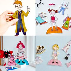 Printable Paper Dolls Kids Will Absolutely Love