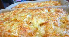 ΥΛΙΚΑ 500 γρ. αλεύρι που φουσκώνει μόνο του 1 κουτ. γλυκού μπέικιν πάουντερ Λίγο αλάτι 250 γρ. φέτα τριμμένη 1/2 φλιτζάνι χυμό πορτοκαλιού 1 φλιτζάνι ελαιόλαδο ή αραβοσιτέλαιο ΕΚΤΕΛΕΣΗ Αναμειγνύουμε σε λεκάνη το αλεύρι κοσκινισμένο με το μπέικιν πάουντερ, το αλάτι, τη φέτα, τον χυμό πορτοκαλιού και το ελαιόλαδο. Ανακατεύουμε καλά μέχρι να γίνει ένας [...] Easy Cooking, Cooking Time, Cookbook Recipes, Cooking Recipes, Greek Dishes, Bread Cake, Greek Recipes, Finger Foods, Macaroni And Cheese
