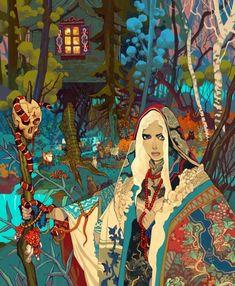 Polish freelance artist Jakub Rebelka produces incredibly detailed artworks, oozing with a unique style that transcends genres. More illustrations via ArtStation Art Inspo, Kunst Inspo, Inspiration Art, Character Inspiration, Character Art, Character Portraits, Art And Illustration, Fantasy Kunst, Fantasy Art