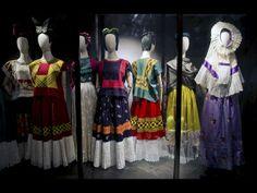 Vestidos y accesorios de Frida Kahlo son expuestos en museo de México | RPP NOTICIAS
