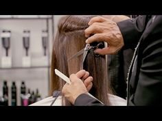 ▶ How To Cut Layers in Long Hair - The Ombre Layering Technique - YouTube