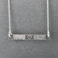 Inspiring Reasons I Love Jewelry Ideas. Intoxicating Reasons I Love Jewelry Ideas. Engraved Jewelry, Engraved Necklace, Bar Necklace, Personalized Jewelry, Necklace Ideas, Pendant Necklace, Jade Jewelry, I Love Jewelry, Sea Glass Jewelry