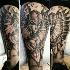 valkyrie tattoo - I'm in love