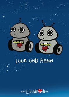 H4NN und 1UUX (Hann und Luuk)