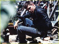 Jensen Ackles Rocks Mens Fitness | jensen ackles mens fitness 02 - Photo Gallery | Just Jared