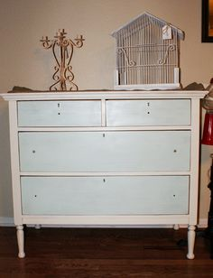 Different color drawers - possibilities for my credenza.