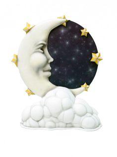 giant-moon-04_-_P Prop Hire, Room Themes, Moon, Cute, Carnival, The Moon, Kawaii