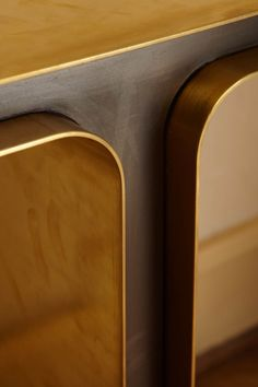 """1970s Italian Brass Console """"T"""" 
