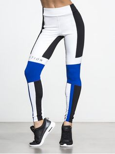 Strike Zone Panelled Legging