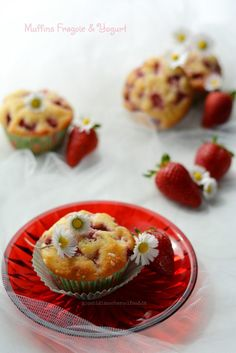 Muffins Fragole e Yogurt