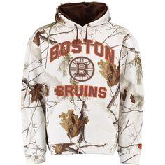 14a19fe8f NHL Boston Bruins Old Time Hockey Parot Realtree Camo Hoodie - White Nhl  Boston Bruins