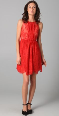 Amazing red lace by Tibi