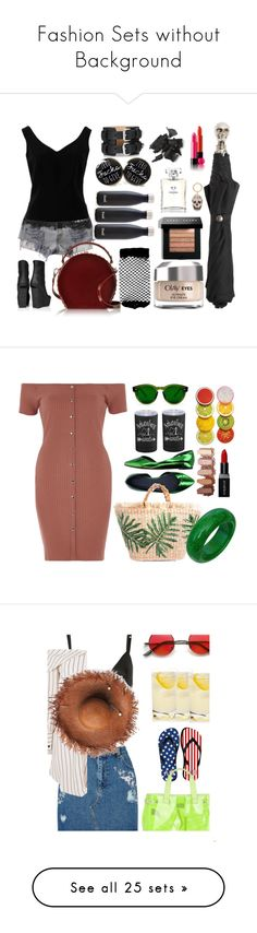"""Fashion Sets without Background"" by lablanchenoire ❤ liked on Polyvore featuring art, Étoile Isabel Marant, River Island, Smashbox, T By Alexander Wang, Miss Selfridge, Topshop, Armani Jeans, Abercrombie & Fitch and Maybelline"