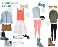"""""""4 Outfit"""" by shesheluvzniall ❤ liked on Polyvore"""