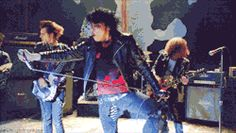 They all looked awesome in the Desolation Row, video. I watched it a couple times yesterday.