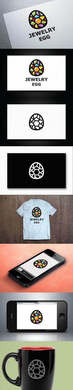 Diamond Egg Logo Template. Logo Templates. $29.00 #Eggs logo