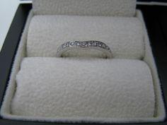 #Platinum wishbone #Diamond #ring  http://www.orlajames.com/wishbone-ring-set-with-diamonds