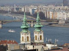Budapest, Pest desde Buda. Foto de Marta Gascón