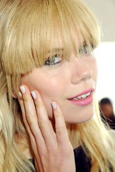 The Best Spring '13 Nail Trends to Try Now: Pale Nails - Featured: Karen Walker