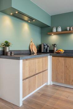 Open Plan Kitchen Living Room, Home Decor Kitchen, Kitchen Interior, Home Interior Design, Home Kitchens, Design Your Dream House, Cuisines Design, Modern Kitchen Design, Beautiful Kitchens