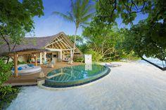 MILAIDHOO ISLAND MALDIVES BAA ATOLL, MALDIVES, Milaidhoo Beach Pool Villa Exterior