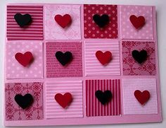 Valentines Card with Stampin' Up! Punches