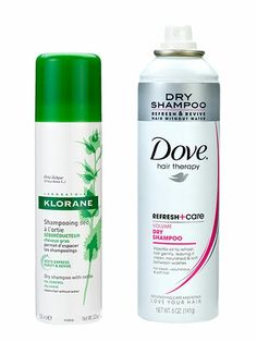 Allure Award Winner: Klorane Dry Shampoo & Dove Refresh + Care Dry Shampoo