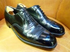 George Cleverley bespoke shoes from the early 1960s GT