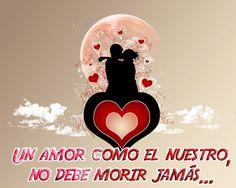 un amor como el nuestro no debe morir acabarse