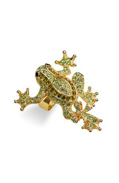 I had a little crystal turtle pin handed down to me by my Aunt as a pre-teen. It was my first piece of bling.