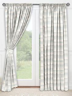 Scandinavia Stripe Aqua Curtains CurtainsGothenburgDining RoomCurtains