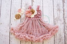 A vintage inspired romantic dress perfect for twirling Dusty rose lace and chiffon skirt is the perfect combination. Embellished with chiffon