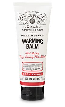 JR Watkins Deep Muscle Warming Balm @ EarthsNaturalRemedies.com