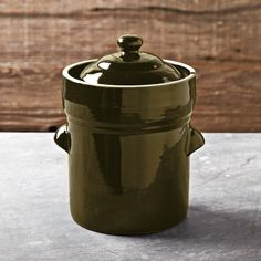 Fermentation Pot, Olive #williamssonoma 1.3 gallon capacity.