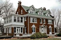 1916 Colonial Revival. The outside of this home and its grounds is amazing. Inside needs some TLC, but so worth the effort. Love it!