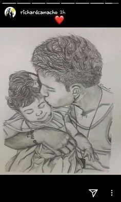 Awwww son tan tiernos Cnco Richard, Baby Momma, Insta Story, Aaliyah, Pencil Drawings, Harry Potter, Fan Art, My Love, Monkey
