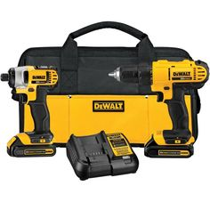 Shop DEWALT  DCK240C2 20-Volt MAX* Lithium-Ion Cordless Drill/Driver and Impact Driver Combo Kit at Lowe's Canada. Find our selection of combo kits at the lowest price guaranteed with price match + 10% off.