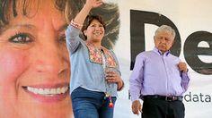 Política y Sociedad: Estado de México / Delfina Gómez no convence a int...