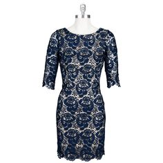 Eliza J Kate Middleton Lace Overlay Dress #VonMaur