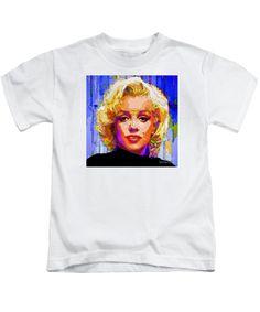 Kids T-Shirt - Marilyn Monroe. Pop Art