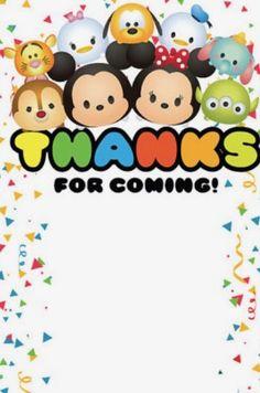 Tsum Tsum Party, Disney Tsum Tsum, Tsumtsum, Baby Shower, Third Birthday, Baby Disney, Holidays And Events, School Design, Birthday Party Themes